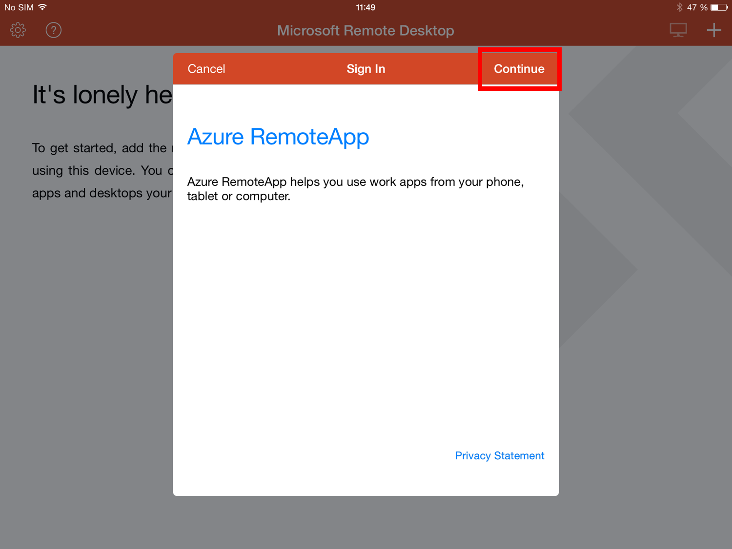 Supported clients - Azure RemoteApp